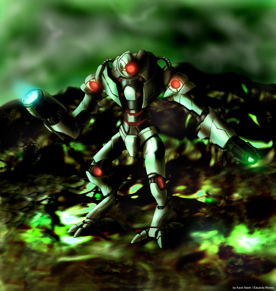 Kane Nash Enlightened Cyborg by KaneNash