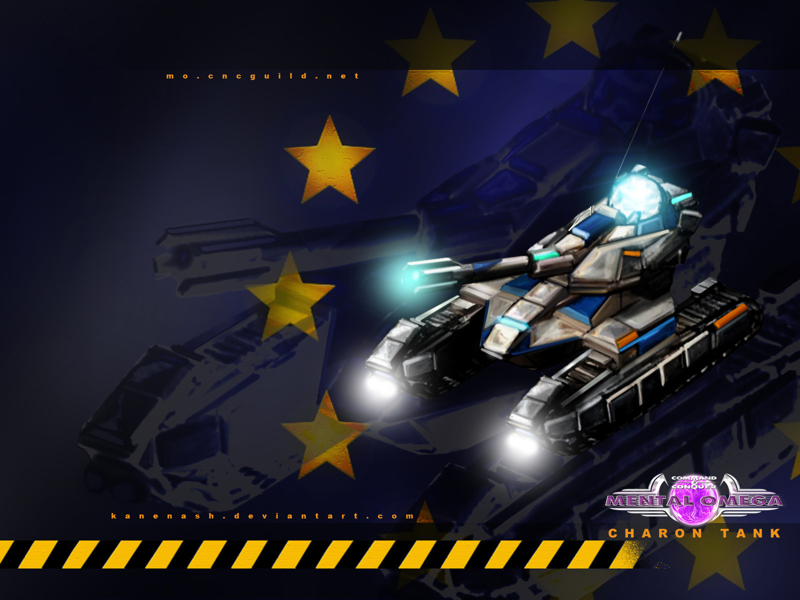 Allied Charon Chrono Tank by KaneNash