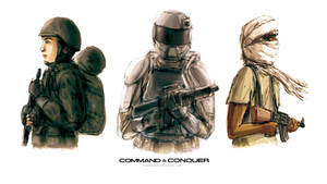 Command and Conquer Generals Soldiers