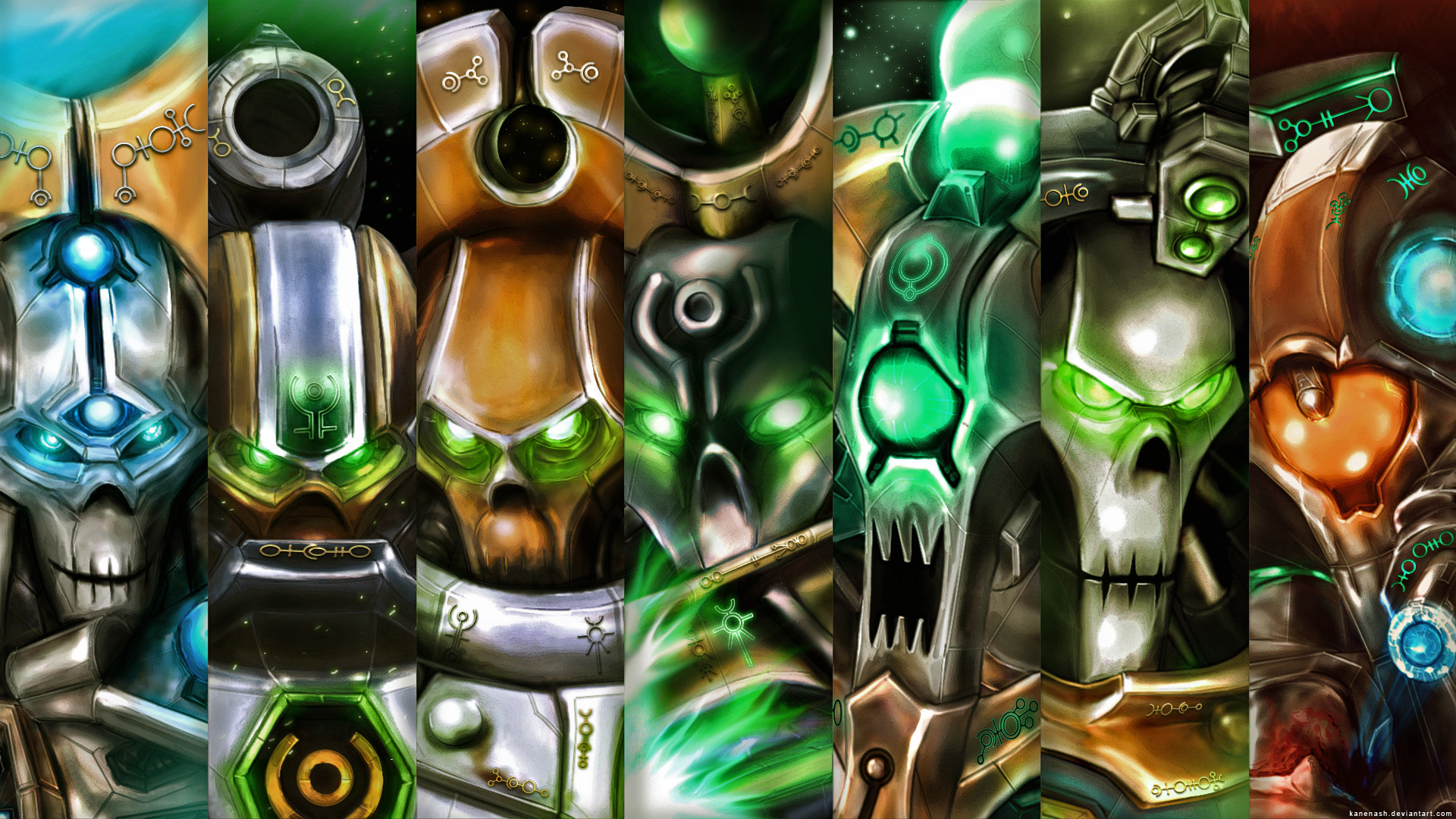 Necron characters