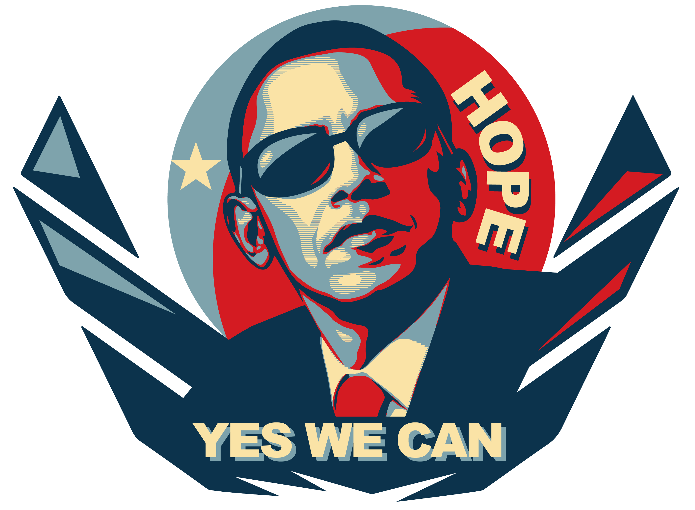 Yes we can by kanenash on deviantart for Bett yes we can