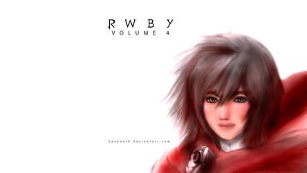 RWBY - Volume 4 - Ruby Rose - Reality by KaneNash