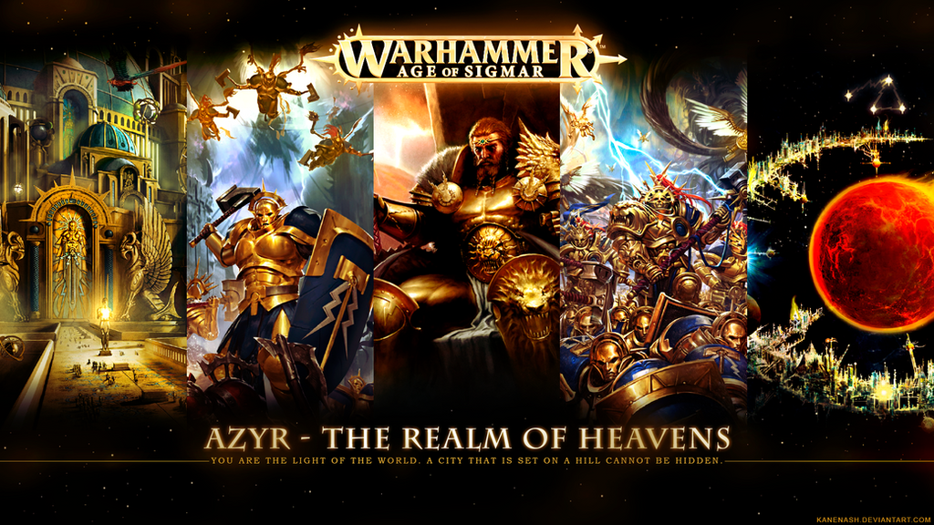 Azyr - The Realm of Heavens by KaneNash