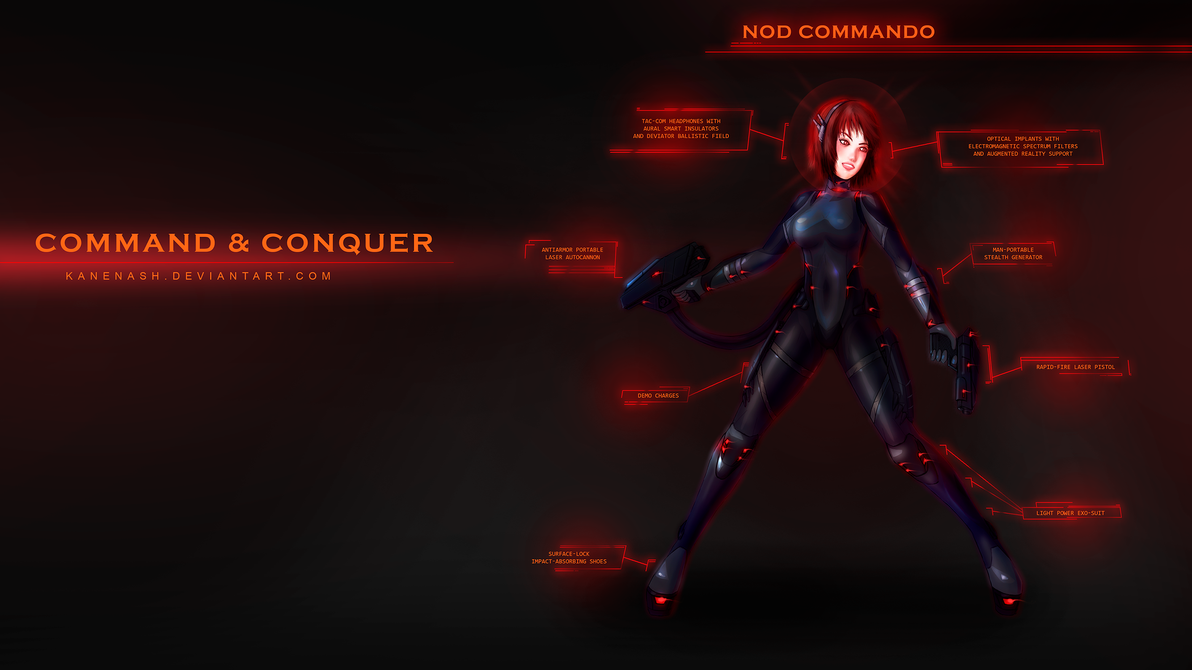 Command and Conquer - Nod Commando by KaneNash