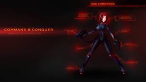 Command and Conquer - Nod Commando by KaneNash