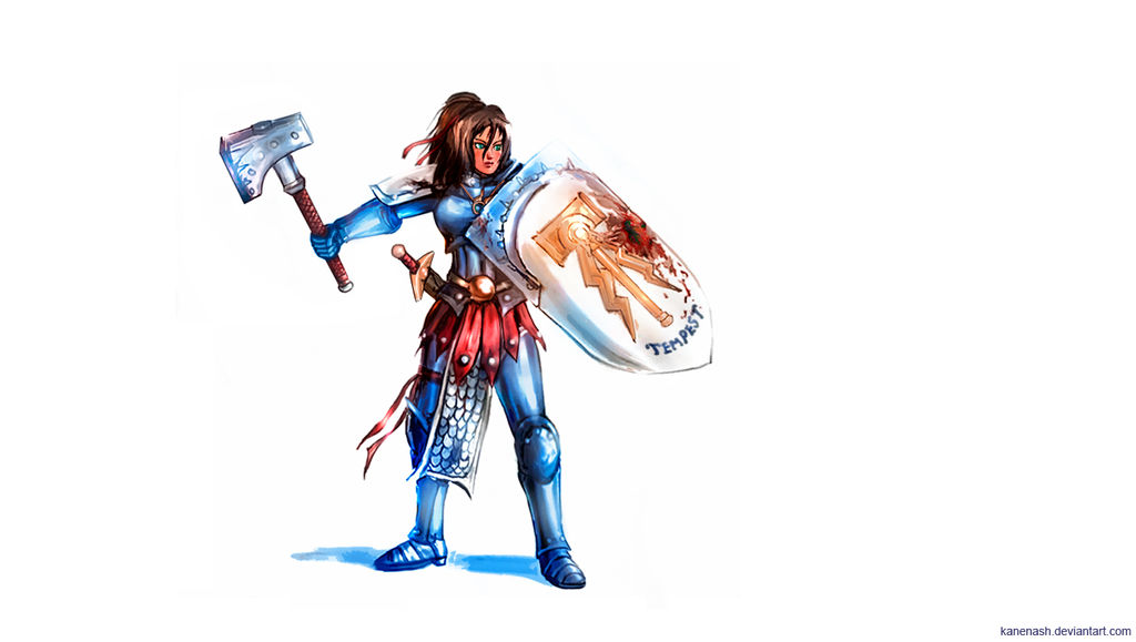 Female Stormcast Liberator by KaneNash