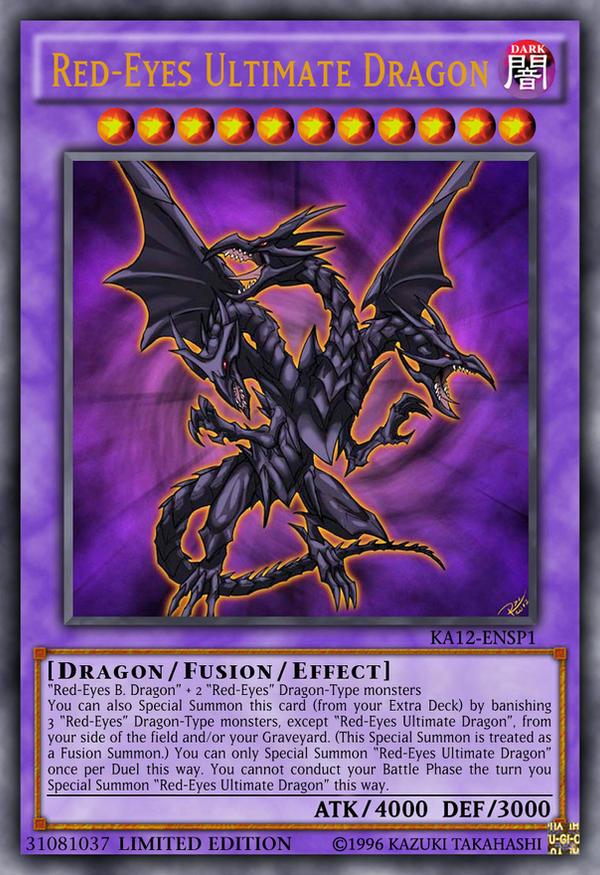 Red-Eyes Ultimate Dragon by Kai1411 on DeviantArt