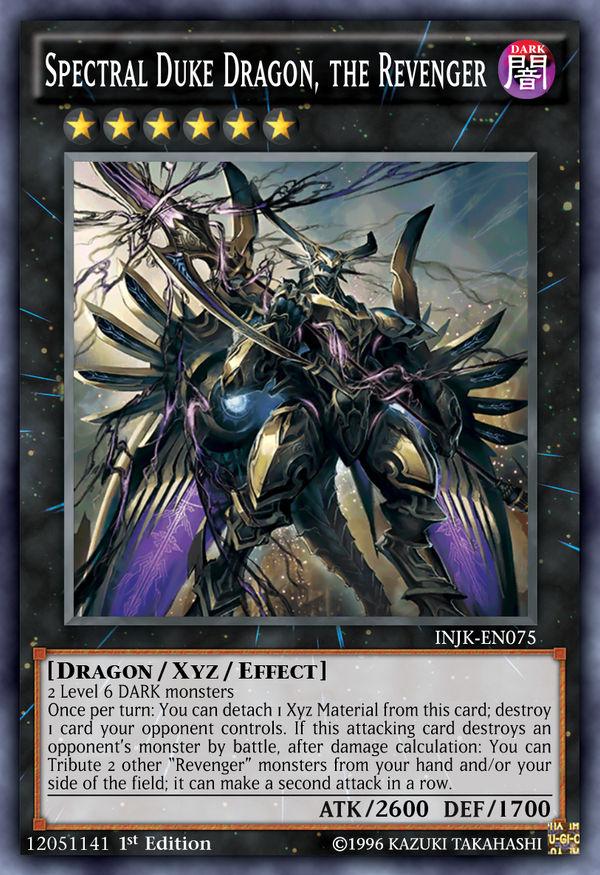 INJK-075 Spectral Duke Dragon, the Revenger