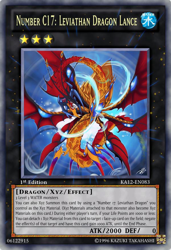 Number C17 Leviathan Dragon Lance by Kai1411 on DeviantArt