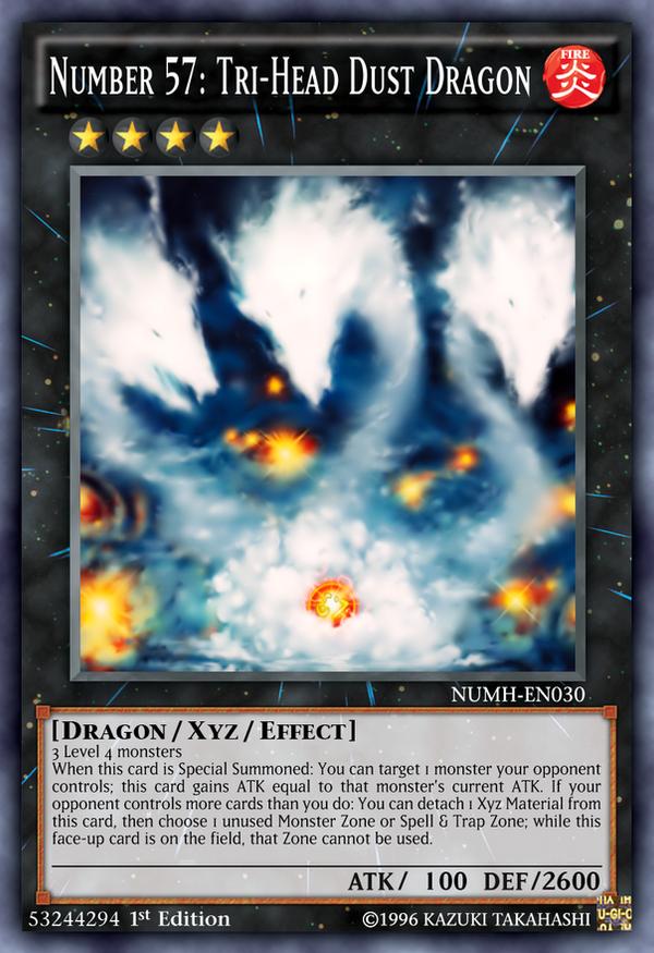 Number 57: Tri-Head Dust Dragon by Kai1411