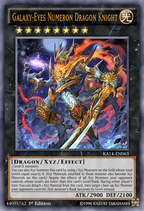 Galaxy-Eyes Numeron Dragon Knight by Kai1411 on DeviantArt