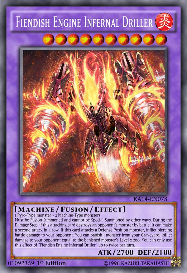 where do i use infernal machine