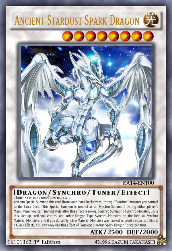 ancient stardust spark dragon by kai1411 on deviantart