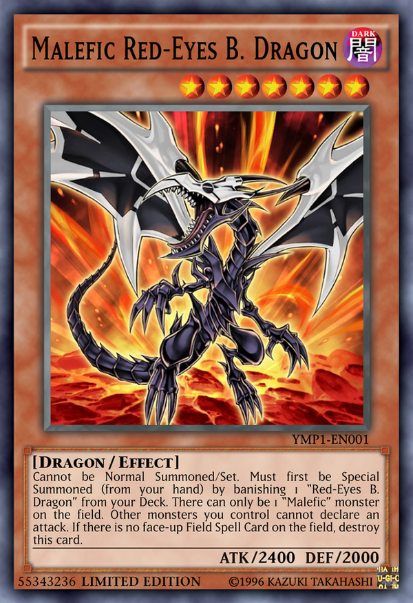 Malefic Red-Eyes B. Dragon by Kai1411 on DeviantArt