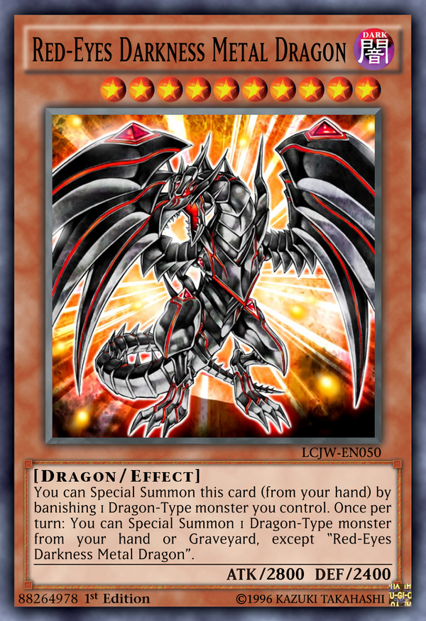 88264978 Red-Eyes Darkness Metal Dragon by Kai1411 on ...  88264978 Red-Ey...