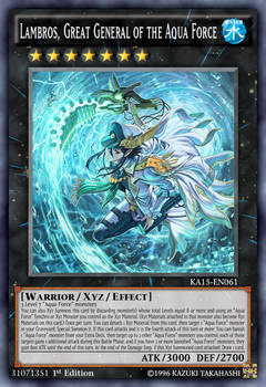 Lambros, Great General of the Aqua Force