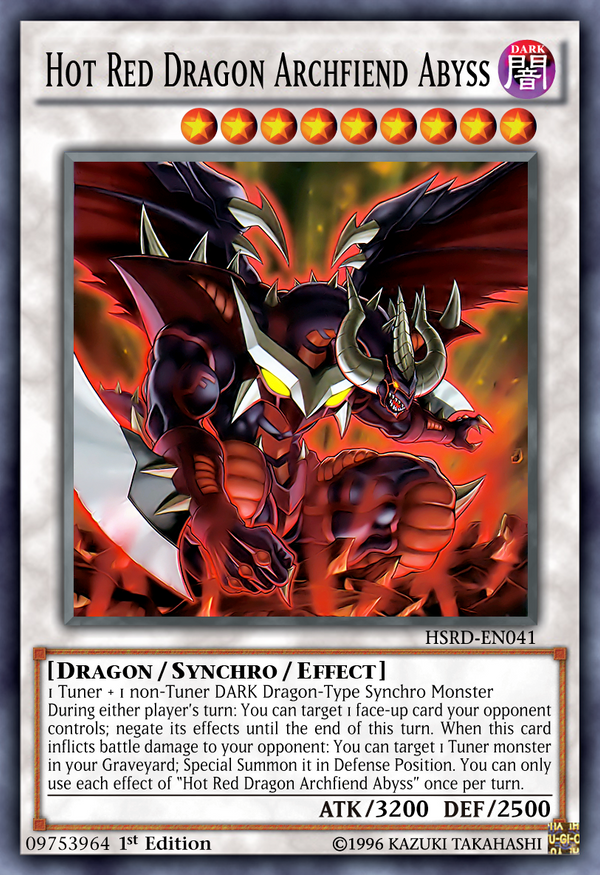 09753964 Hot Red Dragon Archfiend Abyss by Kai1411