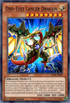 Odd-Eyes Lancer Dragon