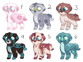 Puppy Auction Adopts - CLOSED by stoIenkisses