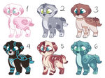 Puppy Auction Adopts - CLOSED