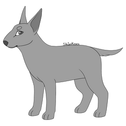 Bull Terrier Base by stoIenkisses