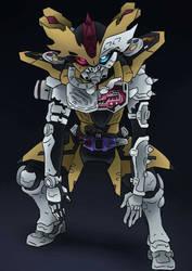Kamen Rider Dangerous Lazer by CharismaticGolem
