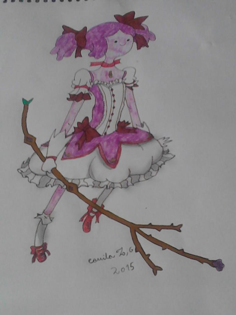 dulce princesa ( madoka magica style) by ridershot