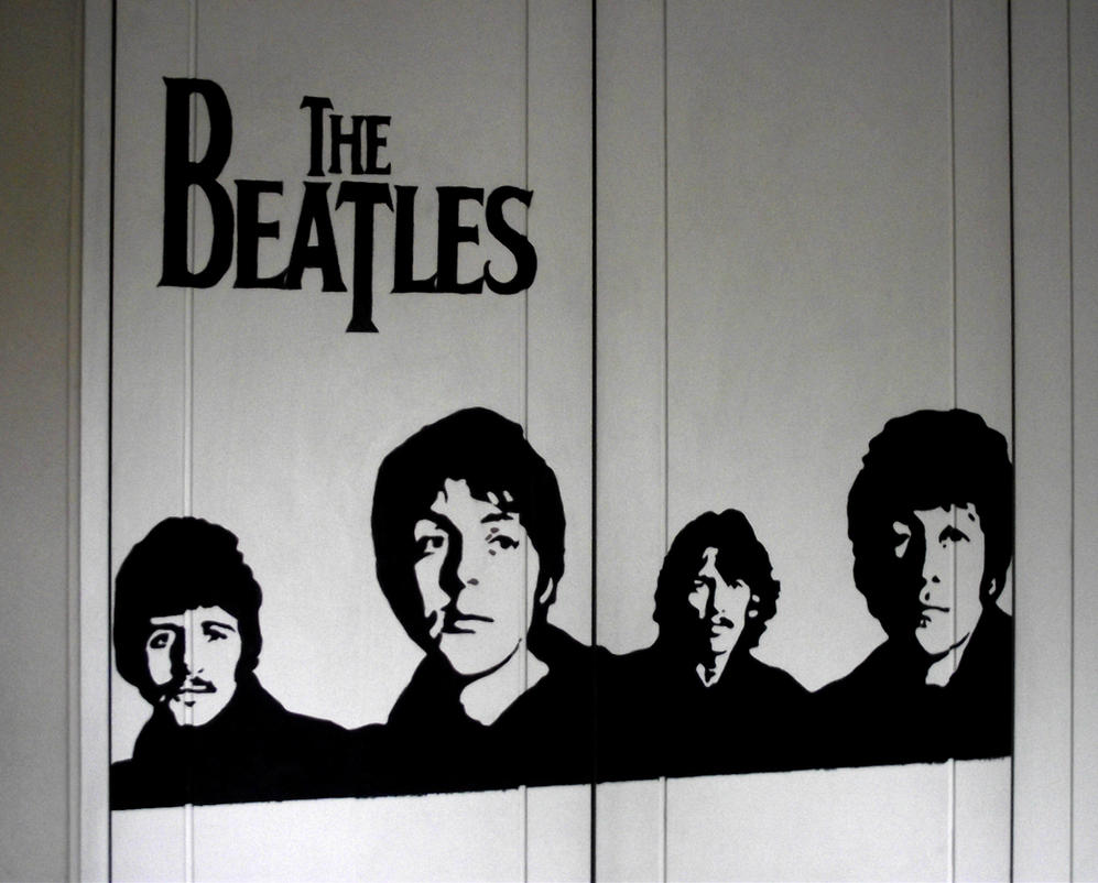 beatles stencil by heinpold - photo #11