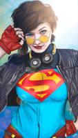 90's Supergirl