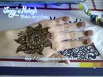 My birthday henna by JennysMehndi