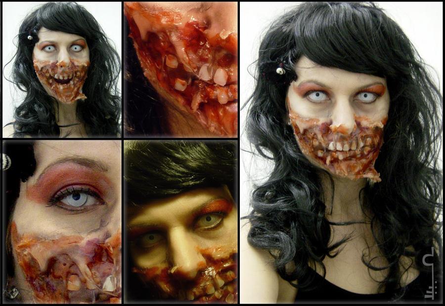 Zombie Doll by alvaramorrigan