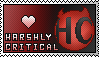 harshlycritical stamp by CadetCutie