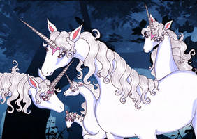 tlU - Unicorns by Neri-chan
