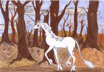 The last Unicorn - autumn by Neri-chan