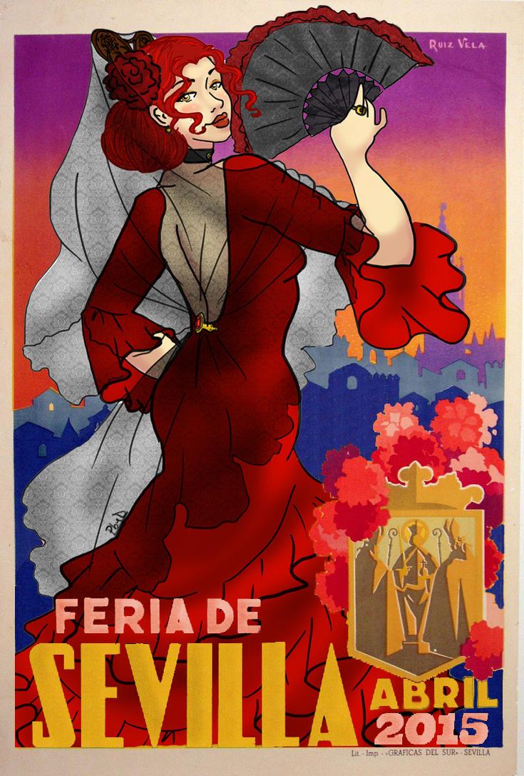 Feria de Abril 2015 by Biby95