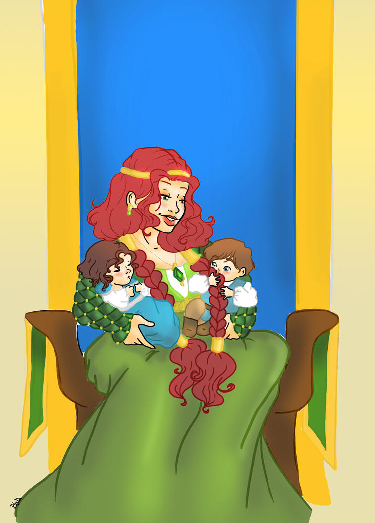 Redheaded Queen by Biby95