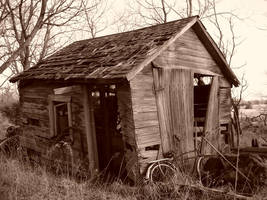 Old Shed by isaacster39
