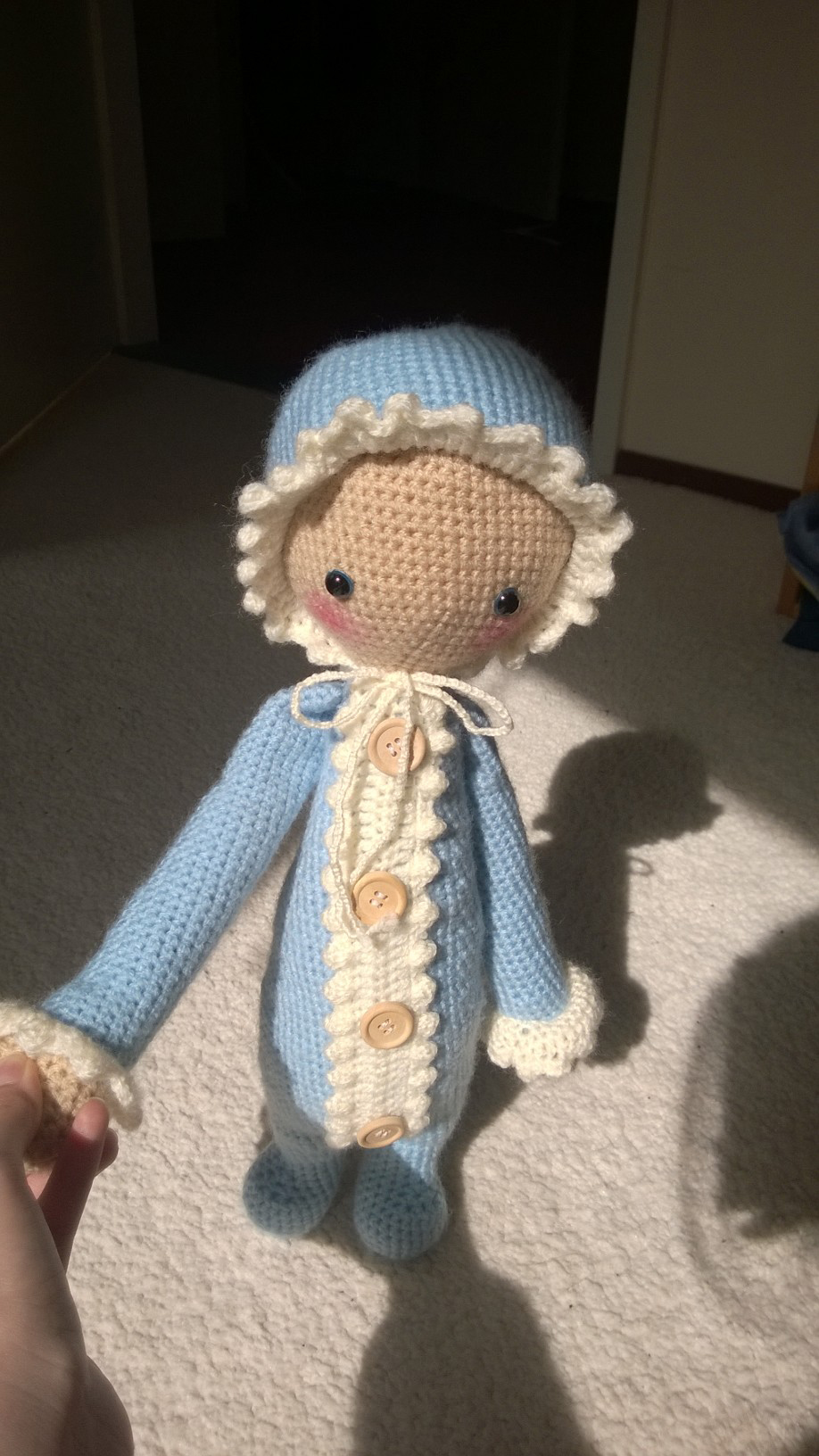 Boo Bear Pattern | Crochet doll tutorial, Crochet doll pattern ... | 1632x918