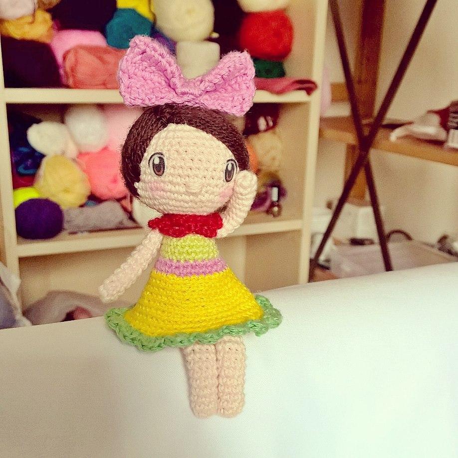 Crochet Doll Pattern Amigurumi Doll Pattern Dolly Crochet Girl | Etsy | 918x918