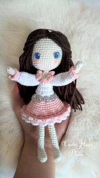 crochet amigurumi doll anime - prototype1