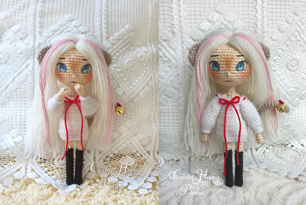 cute anime chibi amigurumi doll Lacey by Shia-Amigurumi on ...