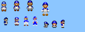 Smg4 Sprites by mbf1000