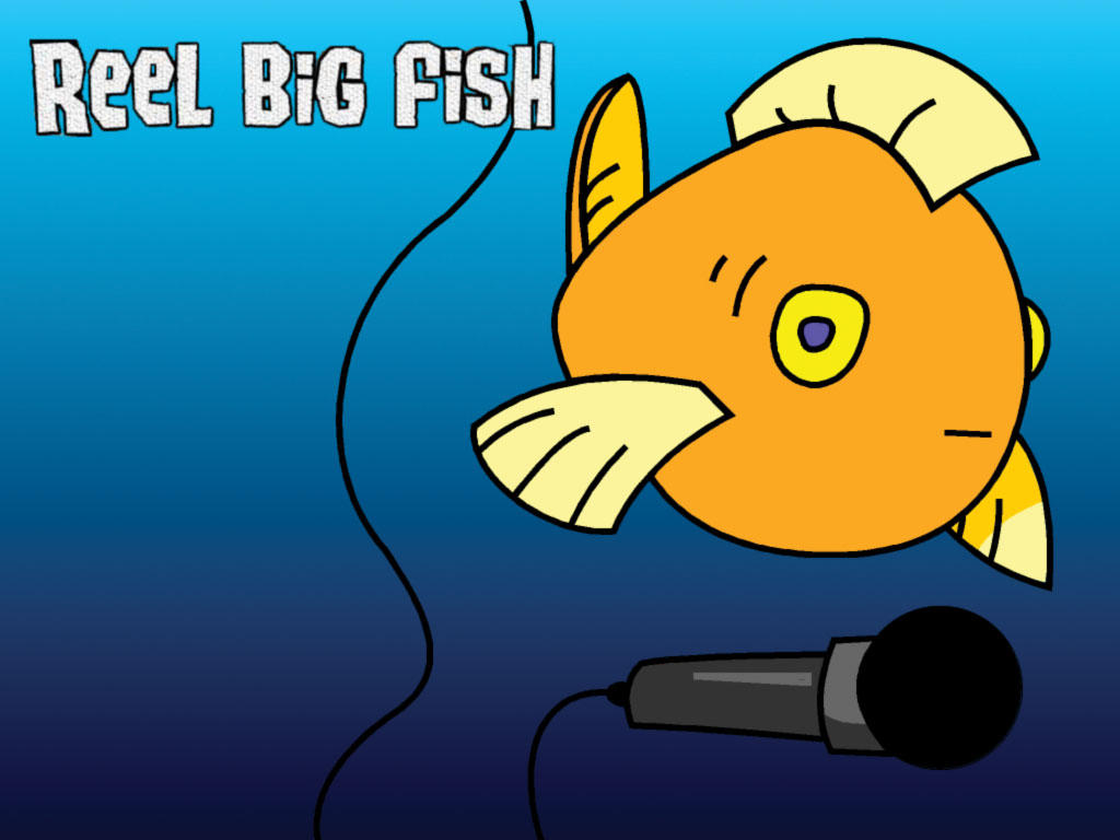 Reel big fish by redbearfan on deviantart for Reel big fish