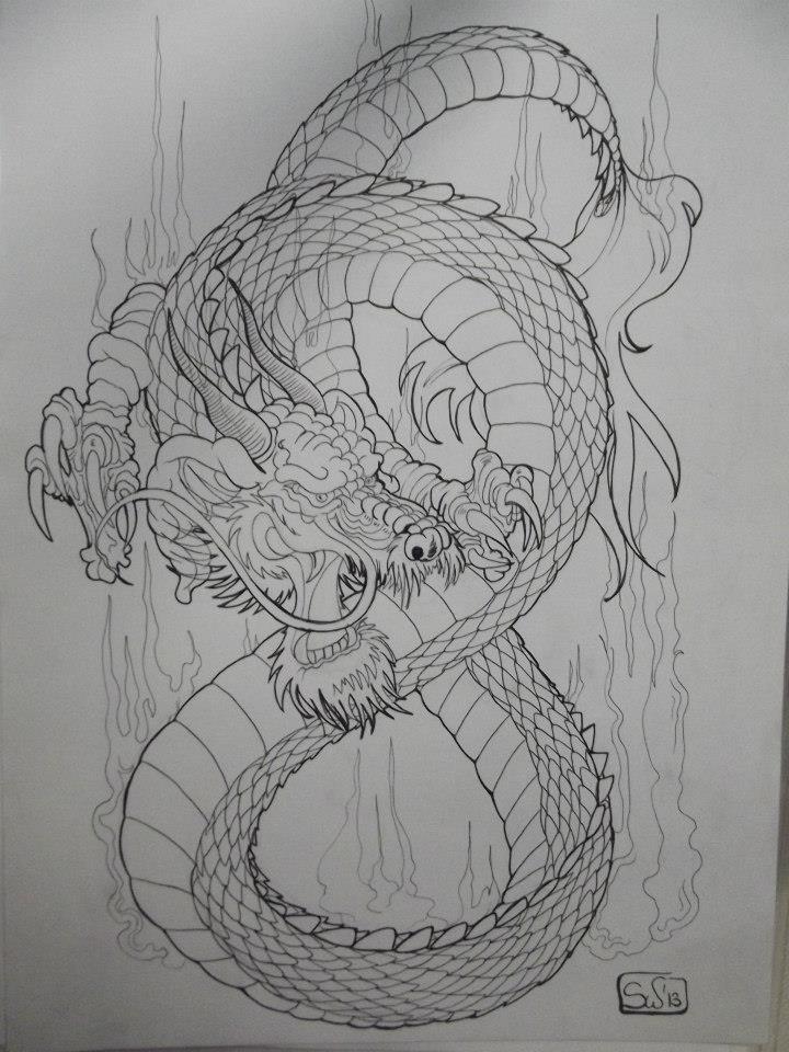 Infinitely dragon by Swadharma