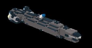 UNSC Cartier-class fireship by Krayt1138