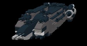 UNSC Galileo-class destroyer by Krayt1138