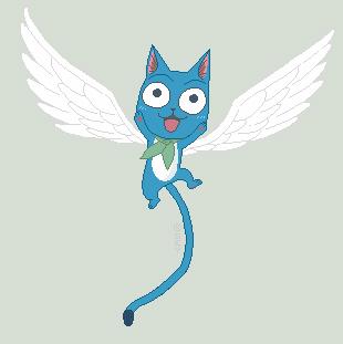 Aye - Happy - Fairy Tail by Sey-Sey