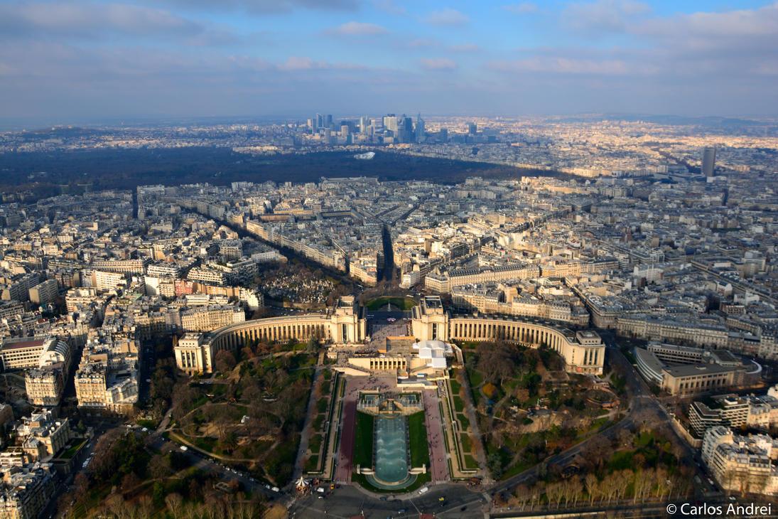 Jardins du Trocadero by andreibsc