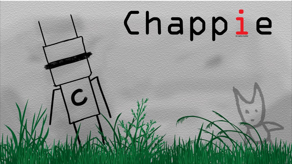 Chappie fanart by andreibsc