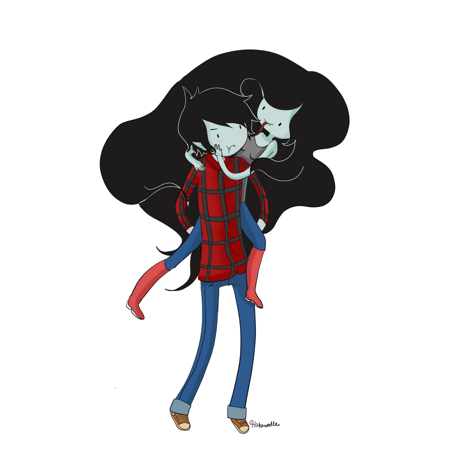 Marceline And Marshall Lee By HahanoodleAdventure Time Marshal Wallpaper